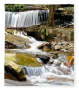 Delaware Falls Fleece Blanket