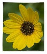 Delicate Flower Fleece Blanket