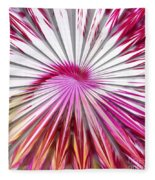Delicate Orchid Blossom - Abstract Fleece Blanket