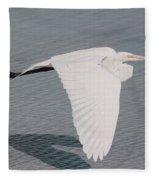 Delicate Wings In Flight Fleece Blanket