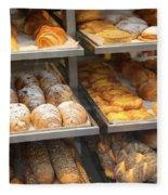 Delicious Pastries In Brussels Fleece Blanket