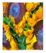 Delightfully Sunny Fleece Blanket