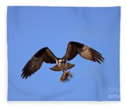 Delivery By Air Fleece Blanket