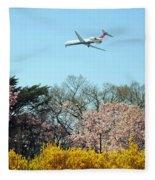 Delta Airlines Fleece Blanket