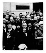 Democractic Delegates, 1920 Fleece Blanket