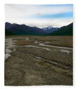 Denali National Park 3 Fleece Blanket
