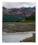 Denali National Park 4 Fleece Blanket