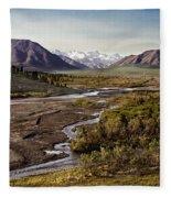 Denali Toklat River Fleece Blanket