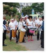 Dende Nation Samba Drum Troupe Fleece Blanket