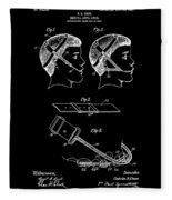 Dental Patent  Office Art Fleece Blanket