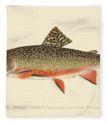 Denton Brook Trout Fleece Blanket