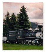 Denver And Rio Grande Western 268 Circa 1990 Fleece Blanket