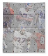 Denver Broncos Legends Fleece Blanket