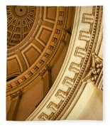 Denver Dome Detail Fleece Blanket