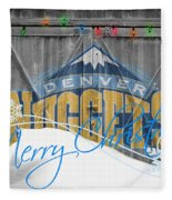 Denver Nuggets Fleece Blanket