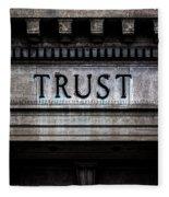 Depositors Trust Company Fleece Blanket