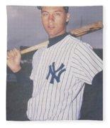 Derek Jeter New York Yankees Fleece Blanket