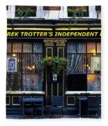 Derek Trotter's Pub Fleece Blanket