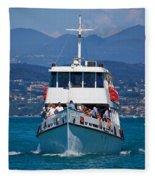 Desenzano. Lago Di Garda Fleece Blanket