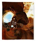 Desert Abstract Fleece Blanket