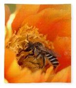 Desert Bee Fleece Blanket