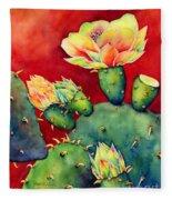 Desert Bloom Fleece Blanket