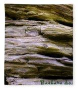 Desert Boulder Detail Fleece Blanket
