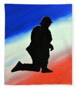 Desert Duty II Fleece Blanket