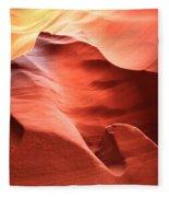 Desert Flames Fleece Blanket