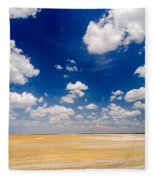 Desert Flatlands Fleece Blanket