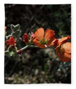 Desert Globemallow Fleece Blanket