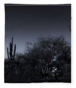 Desert Moon Fleece Blanket