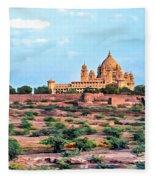 Desert Palace Fleece Blanket