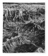Desert Panorama Fleece Blanket