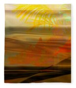 Desert Paradise Fleece Blanket