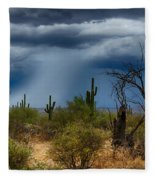 Desert Rains  Fleece Blanket