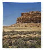 Desert Rock Formation Fleece Blanket