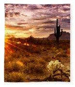 Desert Sunshine  Fleece Blanket