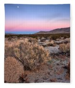 Desert Twilight Fleece Blanket
