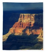 Desert View Grand Canyon 2 Fleece Blanket