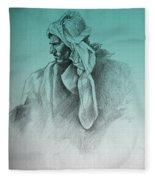 Desert Watch  Fleece Blanket