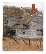 Deserted House Fleece Blanket