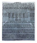Desiderata Stairs Fleece Blanket
