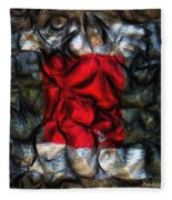 Desire Squared Fleece Blanket