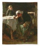 Despair, 1881 Fleece Blanket