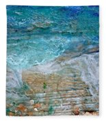 Detail 7 From Rhapsody On The Sea Fleece Blanket