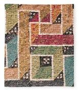 Detail Of A Frieze From The Vault Fleece Blanket