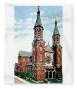Detroit - St Mary Catholic Church - Monroe Avenue - 1910 Fleece Blanket