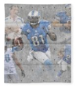 Detroit Lions Team Fleece Blanket