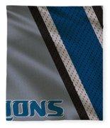 Detroit Lions Uniform Fleece Blanket